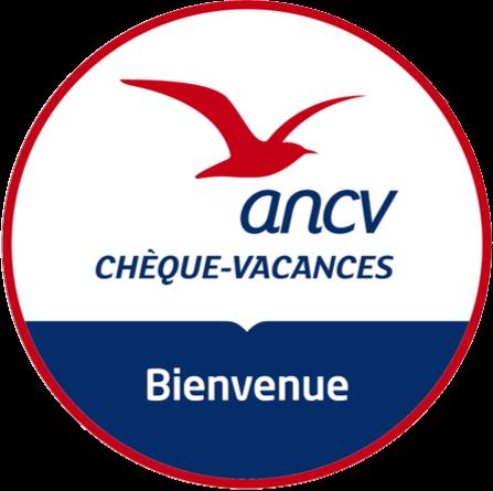 Cheques vacances ANCV logo